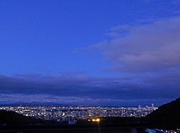 夜の眺望。