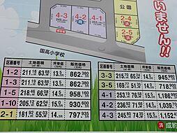 区画価格表