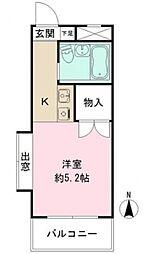 プレステージ東武練馬[7階]の間取り