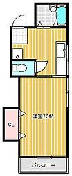コトブキハイツ[2階]の間取り