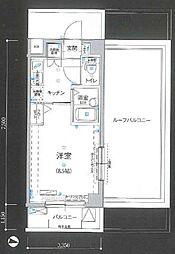 リヴシティ新宿弐番館[3階]の間取り