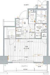 エスカーサ大阪WEST[1002号室]の間取り