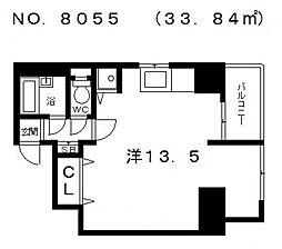 エンドウハイツ[5階]の間取り