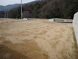 六甲山の山々が...