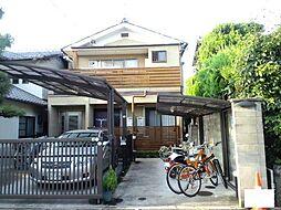 京都府京都市左京区松ケ崎柳井田町の賃貸アパートの外観