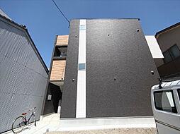 愛知県名古屋市東区豊前町3丁目の賃貸アパートの外観