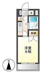 CASA NOAH 名古屋II[2階]の間取り