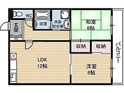 コンフォート・アベニュー[2階]の間取り
