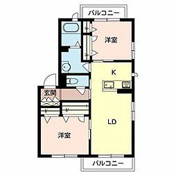 (仮称)堺市・堺区シャーメゾン今池町[2階]の間取り