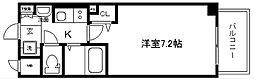 エステムプラザ京都烏丸五条[11階]の間取り