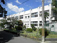 中学校那賀中学校まで1418m