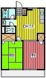 笹屋マンション[2階]の間取り