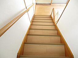 階段は上り下り...