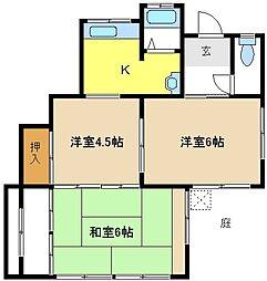 [一戸建] 愛知県名古屋市昭和区向山町2丁目 の賃貸【/】の間取り