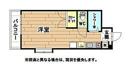 ロイヤルリッチ[6階]の間取り