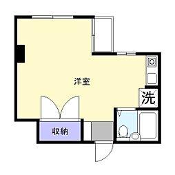 キャッスルプラザ木更津[4階]の間取り