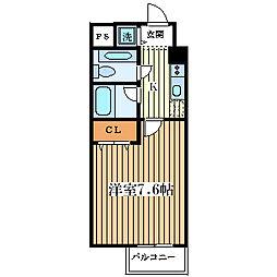 トップハイム・サノ[301号室]の間取り
