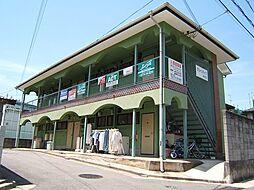 京都府宇治市菟道谷下りの賃貸アパートの外観