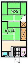 すみれ荘[2階]の間取り