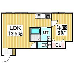 La luce KIBA[2階]の間取り