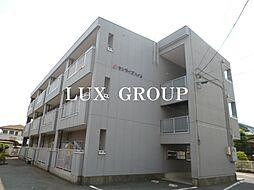 東京都武蔵村山市岸3丁目の賃貸マンションの外観