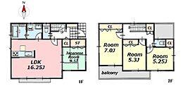 2区画 参考プラン 参考建物価格1188万円 土地建物総額3780万円
