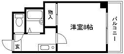 ドエル1号館S・Y[2-B号室]の間取り