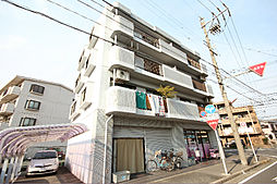 愛知県名古屋市中川区中郷5丁目の賃貸マンションの外観