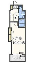 ラファセプリム大濠[5階]の間取り
