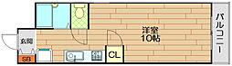 ビューライフ六甲[5階]の間取り