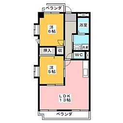 ダイソー12号館[4階]の間取り