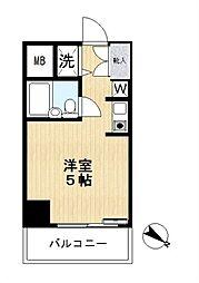 スカイコートパシフィック川崎[2階]の間取り