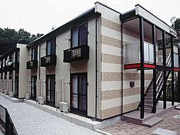 神奈川県横浜市中区本牧満坂の賃貸アパートの外観