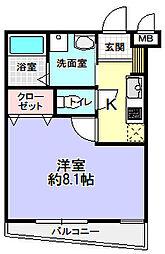 Cell Cube枚方[3階]の間取り