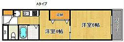 エリオットグリーン II[3階]の間取り