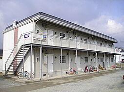 奈良県生駒郡平群町大字三里の賃貸アパートの外観