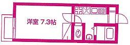 カーサ宮崎台[2階]の間取り