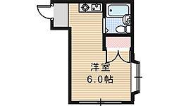 シェトワ阪南[301号室]の間取り