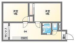 EPO南堀江ビル[305号室]の間取り