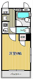 コンフォートマンション下町第2[4階]の間取り