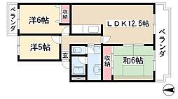 Do Miru Fuji[405号室]の間取り