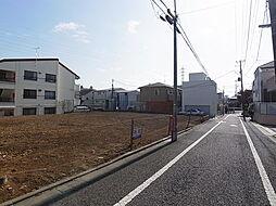前面道路含む土...