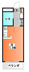 エマーユ蒼龍戸田公園[1階]の間取り