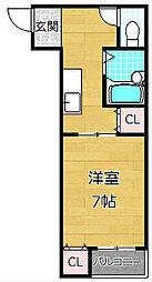 メゾンドオーブ[2階]の間取り