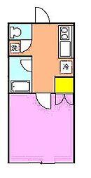 パインハウス[101号室]の間取り