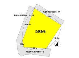 敷地と道路図