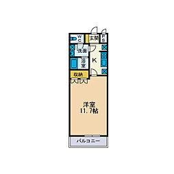 サンコートI[2階]の間取り