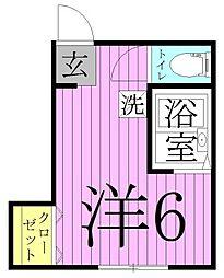 ノンノエノンナ[2階]の間取り