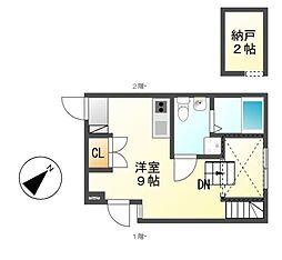 REX新栄[1階]の間取り