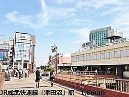 JR津田沼駅へ...